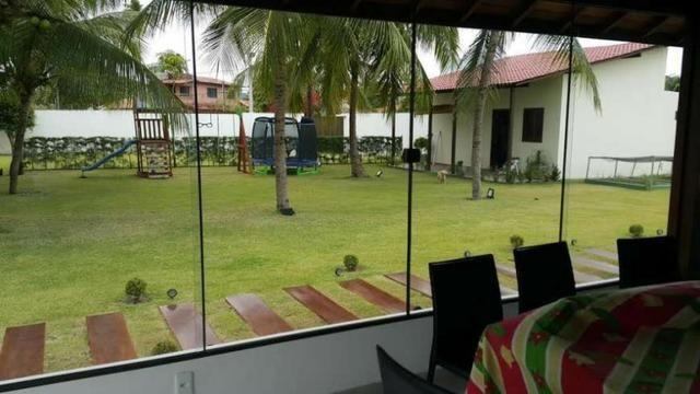 Casa de Luxo 420 m², 6 Suítes, Varanda, Piscina - Serrambi, PE - Foto 17