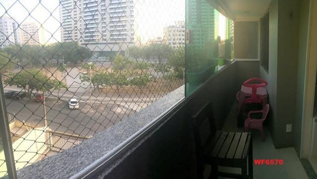 Les Places, apartamento no Cocó, 3 suítes, 3 vagas, próximo shopping rio mar, cidade 2000 - Foto 14