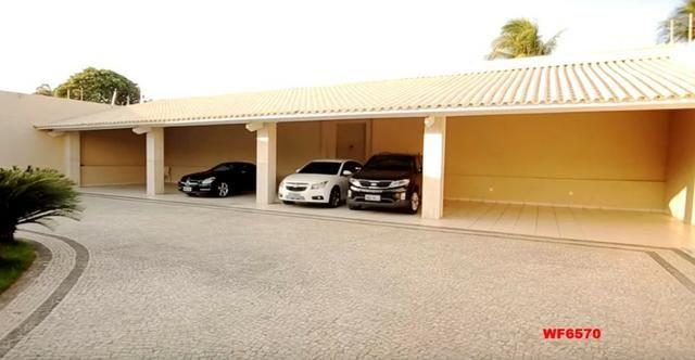 Mansão em Fortaleza, casa duplex nas Dunas, 4 suítes, gabinete, bairro de Lourdes - Foto 4
