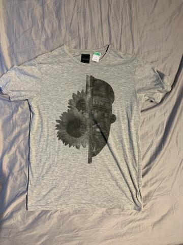 795f8a2ad Camisetas diversas estampas tamanho GG somente venda aceito cartão as 6 por 60  reais