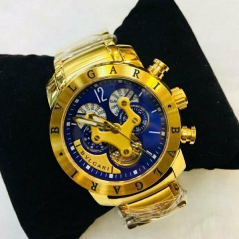 d0e49cd5d1f Relógio Bvlgari iron man original - Bijouterias