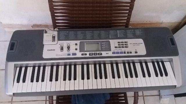 Teclado piano kasio Lk 100 semi-profissional novo