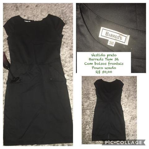 f0a7fb12d0901 Vestido preto - Roupas e calçados - Marapé