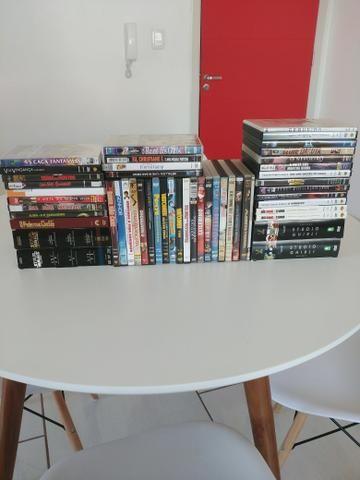 Coleçao de DVDs muitos título raros barbada