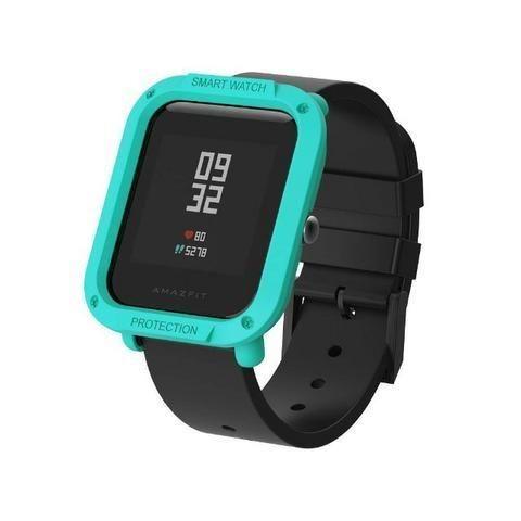 Capa Case Bumper Esportiva Para Proteção Xiaomi Huami Amazfit Bip Relógio Smartwatch - Foto 4