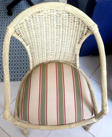 Cadeiras de Junco Natural