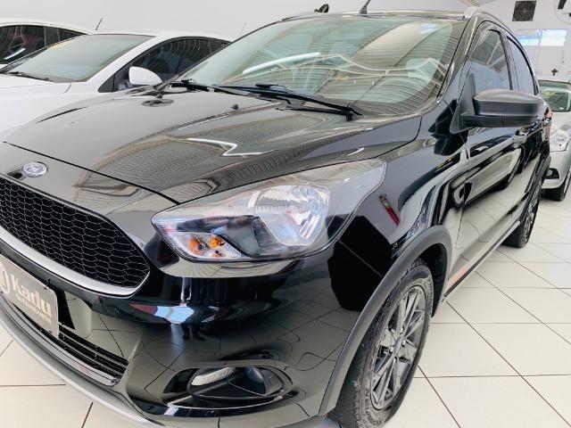Ford/Ka 1.0 SE Trail 2018 completo único dono - Foto 3