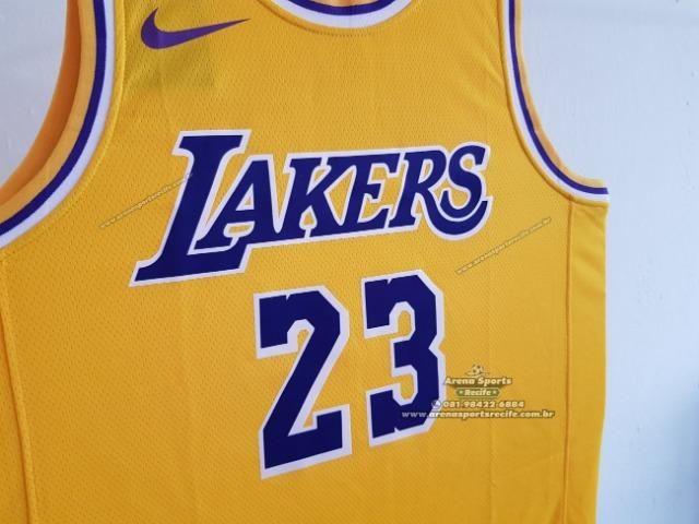 sports shoes 1fa08 b58d9 Regata NBA Los Angeles Lakers - Icon Edition - Swingman