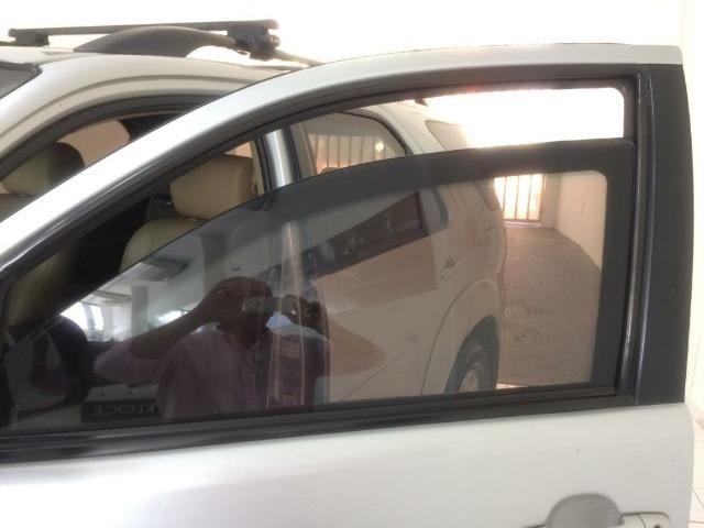 Toyota SW4 SRV 4X4 Diesel 7 lugares 2014/2014 Blindada - Foto 9