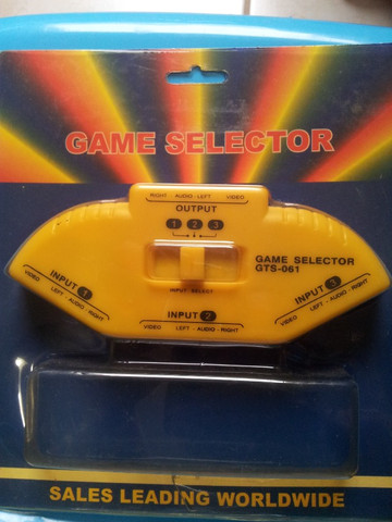 Game Selector Video Game - Gts-061 - Acompanha 1 Cabo - Foto 2