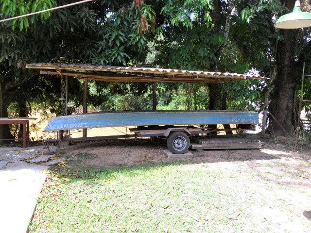 Linda chacara 1,100mt com casa de 3 dormitorios fundo para o rio mogi guaçu otimo local - Foto 16