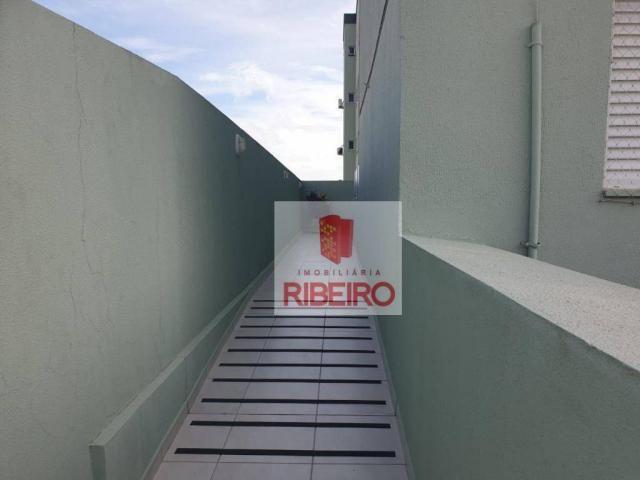 Apartamento com 2 dormitórios para alugar, 60 m² por R$ 770/mês - Urussanguinha - Ararangu - Foto 2