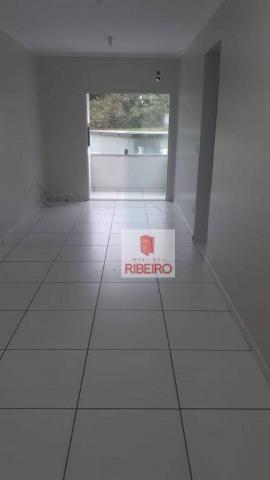 Apartamento com 2 dormitórios para alugar, 60 m² por R$ 770/mês - Urussanguinha - Ararangu - Foto 6