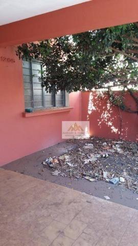 Casa com 2 dormitórios para alugar, 113 m² por R$ 1.200,00/mês - Vila Tibério - Ribeirão P - Foto 3