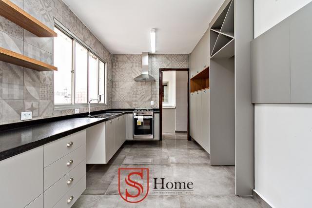 Apartamento com 4 quartos e 2 vagas para aluguel no Bigorrilho em Curitiba - PR - Foto 6