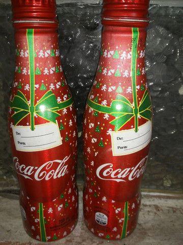 Garrafa coca cola série especial - Foto 3