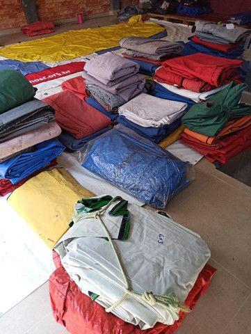 Lonas Coberturas e Laterais usadas Tendas Sanfonadas 1/1/2 e 2x2 e 3x3 e 4,50x3 e 6x3