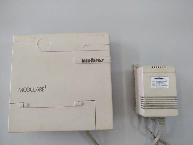 Central telefônica Intelbras modulare i 4 linhas / 12 ramais