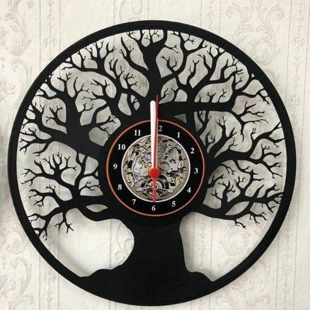 Relógio de parede vinil - Foto 2