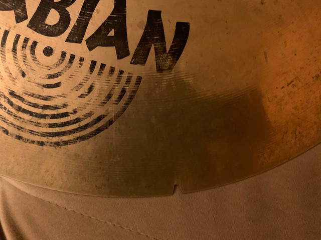 Crash Sabian AAX Studio 19? - Foto 4