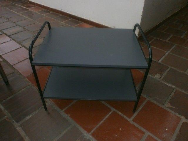 rack para televisor - revistas - som  - Foto 4