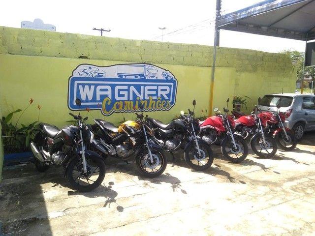 Fan 2018 já emplacada 2021 troco por motos Wagner caminhões!! - Foto 12
