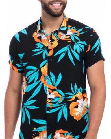 Camisas Viscose Frete grátis  - Foto 4