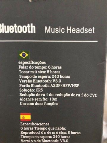 Fone Bluetooth Auricular individual  - Foto 4