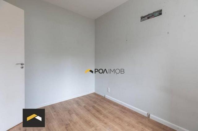 Apartamento com 3 dormitórios para alugar, 96 m² por R$ 3.600,00/mês - Petrópolis - Porto  - Foto 13