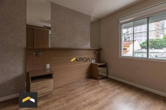 Apartamento com 3 dormitórios para alugar, 96 m² por R$ 3.600,00/mês - Petrópolis - Porto  - Foto 15