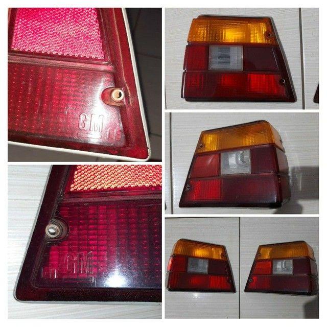 PAR de Lanternas traseiras Caravan Original GM com detalhes  - Foto 2