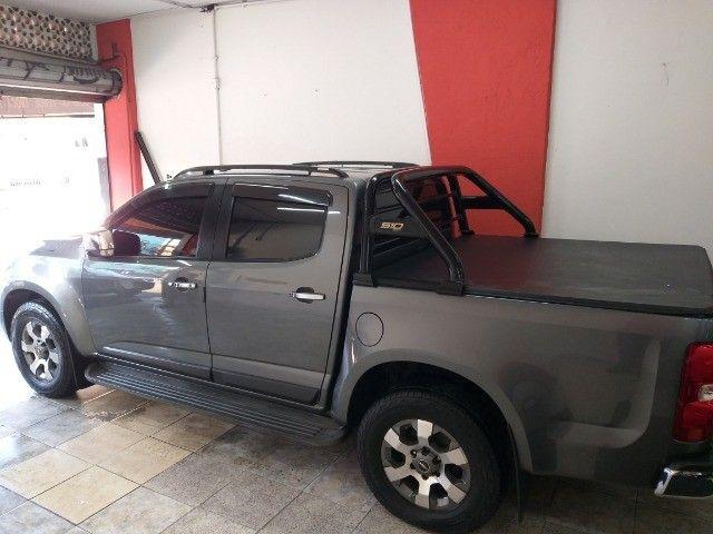 Chevrolet S10 Ltz Top   + Gnv troco e financio aceito carro ou moto maior ou menor valor - Foto 9