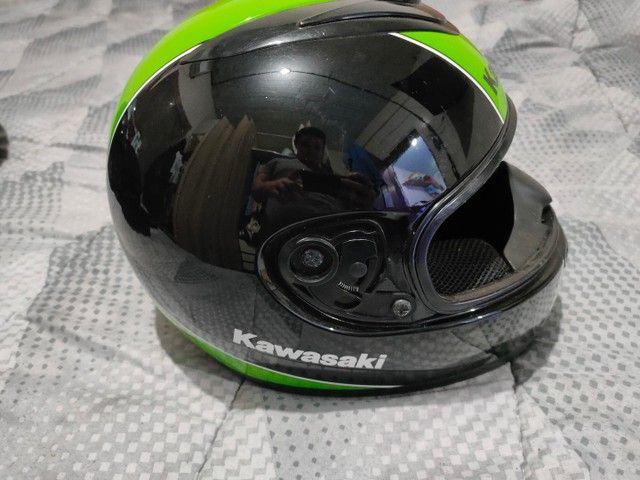 Capacete Kawasaki NAU Helmet - Foto 4