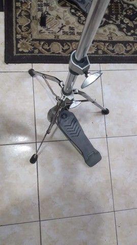 Máquina de Chimbal Yamaha HS650a (Seminovo) - Hi Hat Stand - Foto 3