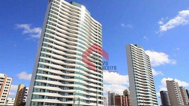 Apartamento com 4 dormitórios à venda, 164 m² por R$ 1.320.000 - Guararapes - Fortaleza/CE - Foto 2