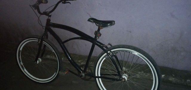 Bicicleta semi nova conservada