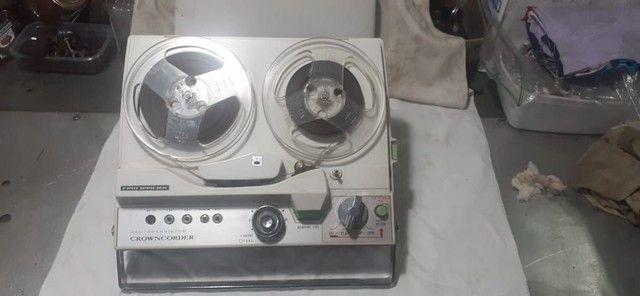 Gravador antigo  Crowncorder - Foto 3