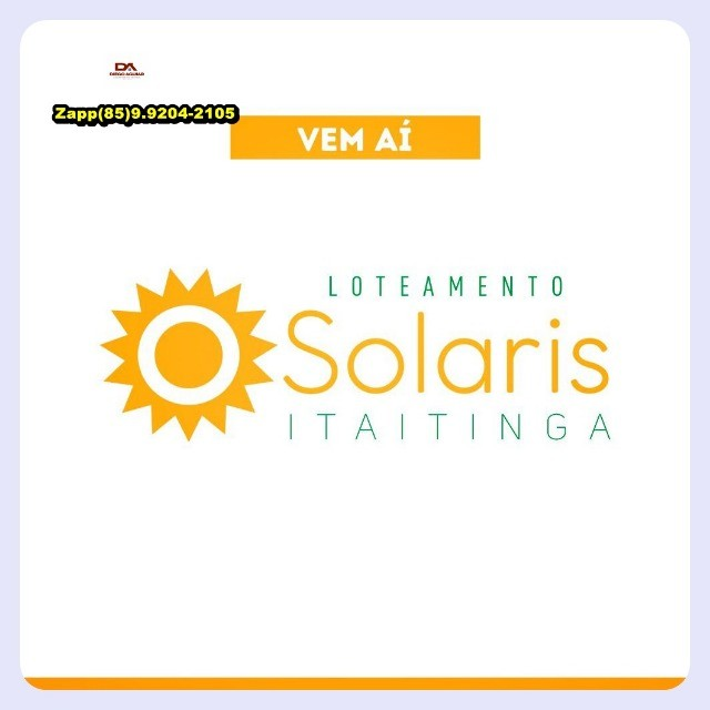 Loteamento Solaris ... Faça uma visita ... - Foto 4