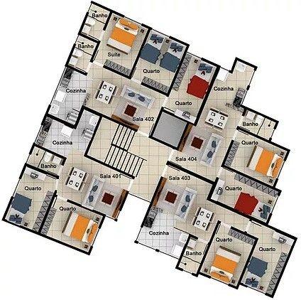 Apartamento à venda com 2 dormitórios em Caiçara, Belo horizonte cod:6237 - Foto 11