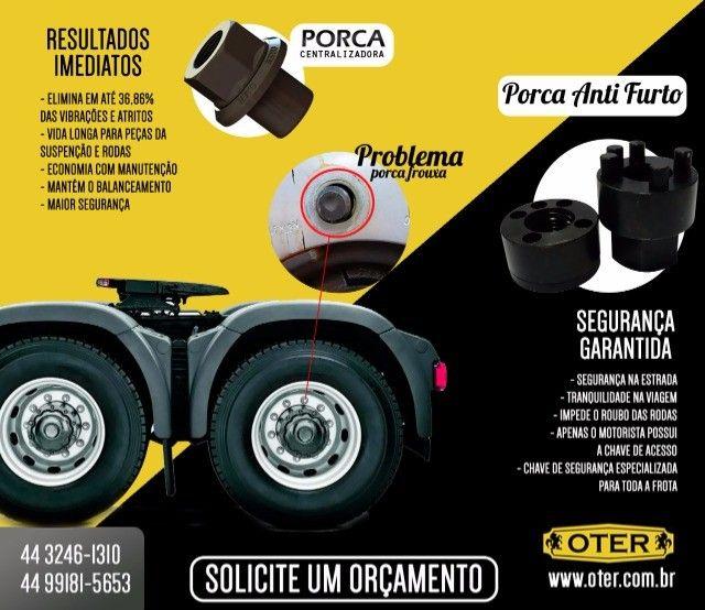 Anti Furto & Porca Centralizadora Para Caminhões e Carretas