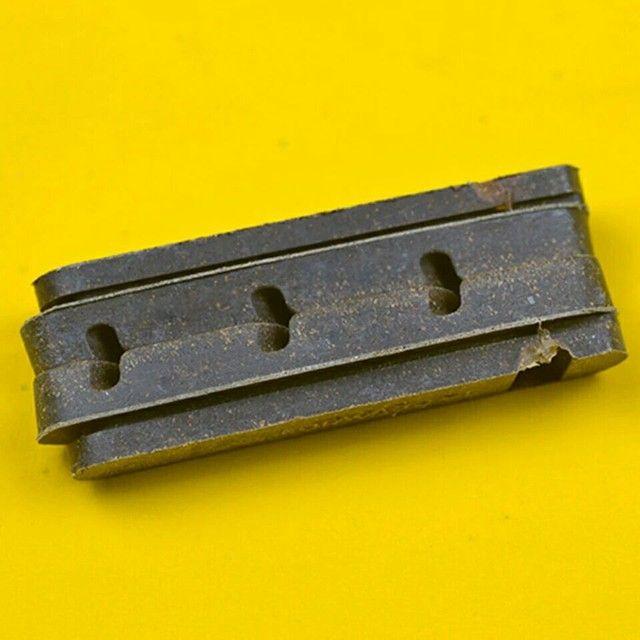 Refil sapata carbono ou alumínio 55mm - Foto 4