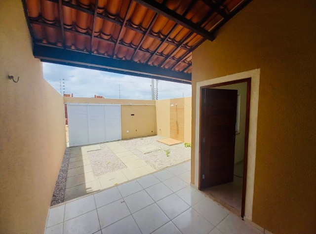 DP casa nova com 2 quartos 2 banheiros com doc. inclusa com entrada facilitada - Foto 10