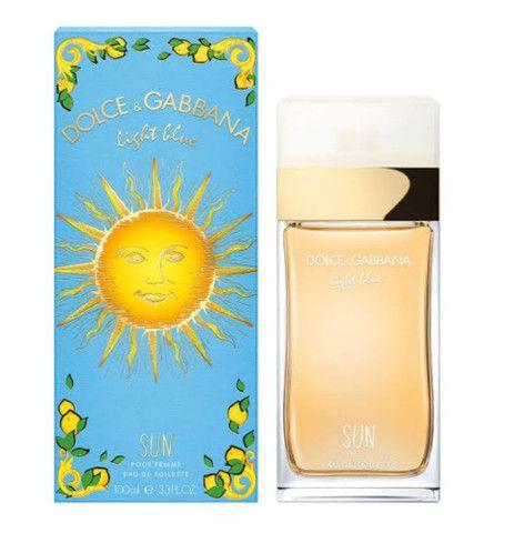 Oportunidade!!! Dolce & Gabbana Feminino light blue Sun 100ml EDT - Foto 2