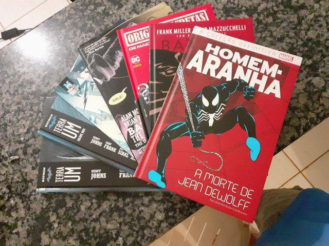 Quadrinhos: Marvel, Dc e Turma da Mónica