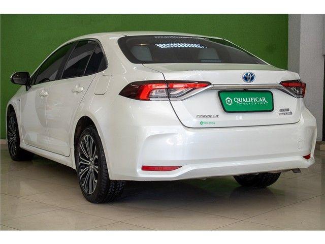 Toyota Corolla 2020 1.8 altis hybrid premium cvt - Foto 7
