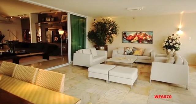 Mansão em Fortaleza, casa duplex nas Dunas, 4 suítes, gabinete, bairro de Lourdes - Foto 6