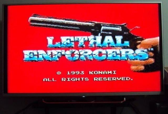 17a0d30b420 Aproveite a promoção.Lethal Enforcers.Veja o Anuncio - Videogames ...