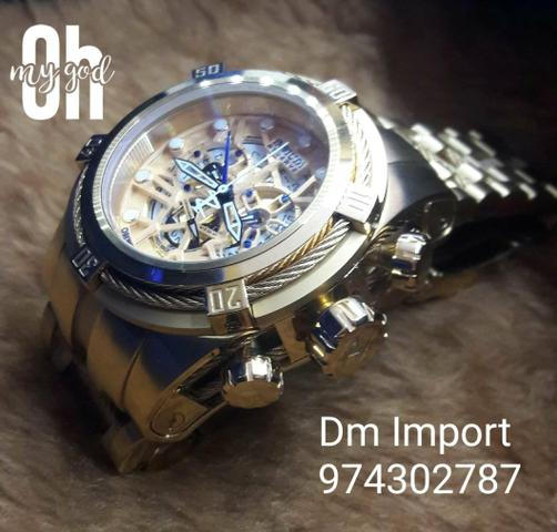 dc996681b74 Dm Import Invicta Bolt Zeus 974302787 - Bijouterias