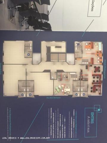 Sala comercial para locação em presidente prudente, edificio torres empresarial washington - Foto 5