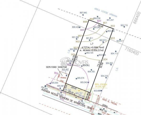 Terreno à venda, 3875 m² por r$ 412.725 - estados - fazenda rio grande/pr - Foto 5
